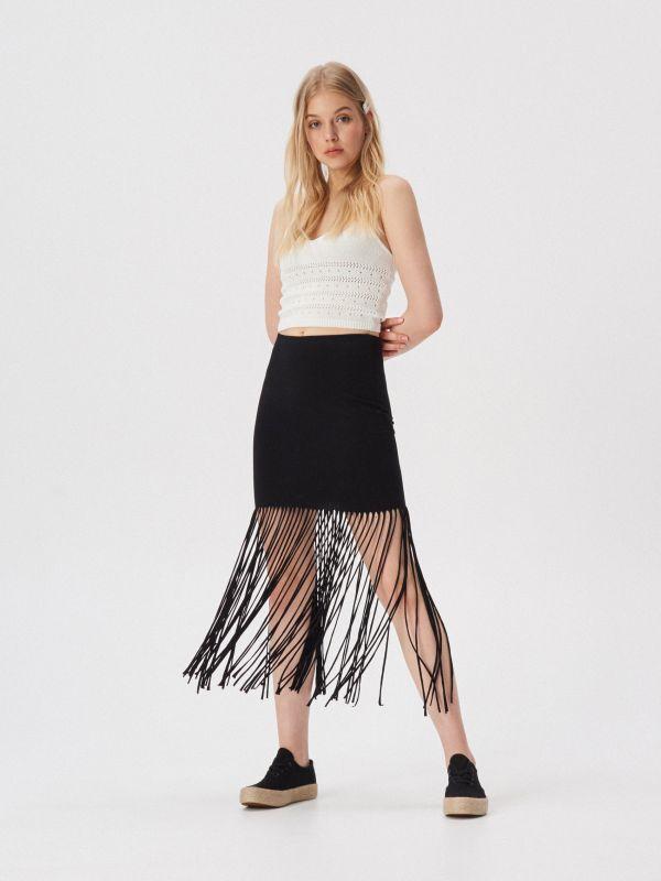 3cc08f1bfaaa Dámske sukne značky Sinsay – športové alebo elegantné – výber je na vás.