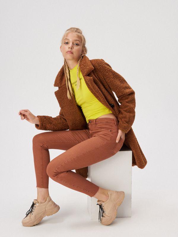 6e4262ff0bbd Женские брюки Sinsay — ультрамодные фасоны и расцветки.