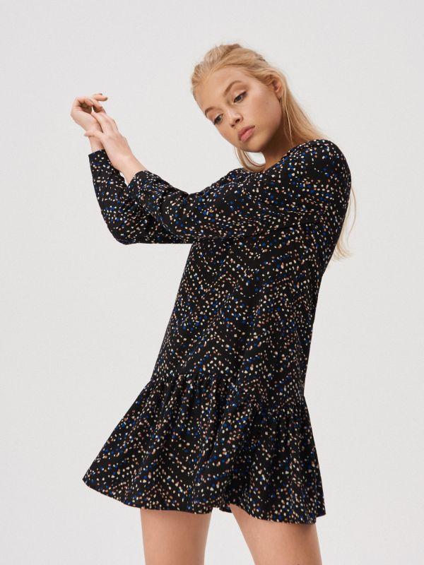 6b088c074de Mała czarna - czarna sukienka - Sinsay