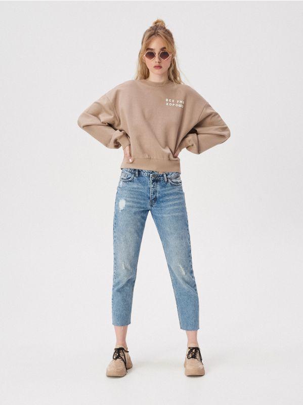 ab359eb425 Bluzy damskie Sinsay - Ciepłe i wygodne